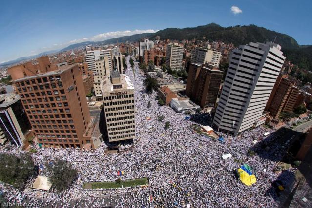 Marcha por la Paz - Colombia - 04/02/08